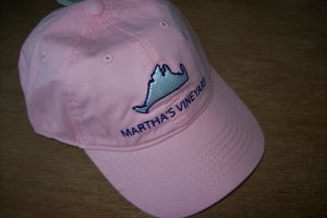 Pink Map Hat for Martha's Vineyard