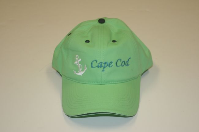 Cape Cod Anchor Green Hat