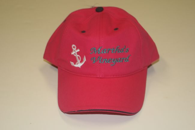 Martha's Vineyard Anchor Pink Hat