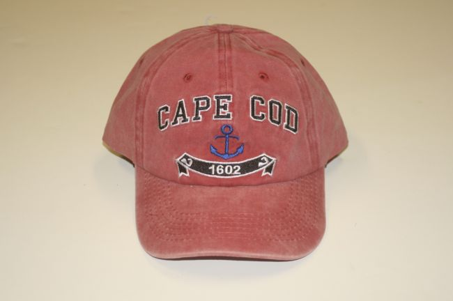 Cape Cod 1602 Anchor Red Hat