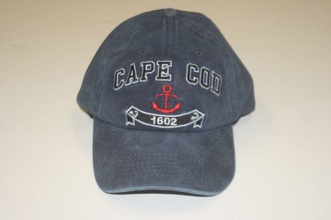 Cape Cod 1602 Anchor Blue Hat