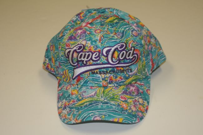 Cape Cod Sea Aqua Hat
