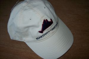 Martha's Vineyard Khaki Map Hat
