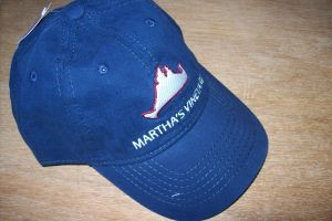 Martha's Vineyard Navy Map Hat