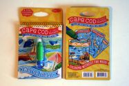 Cape Cod and the Islands Water magic coloring book